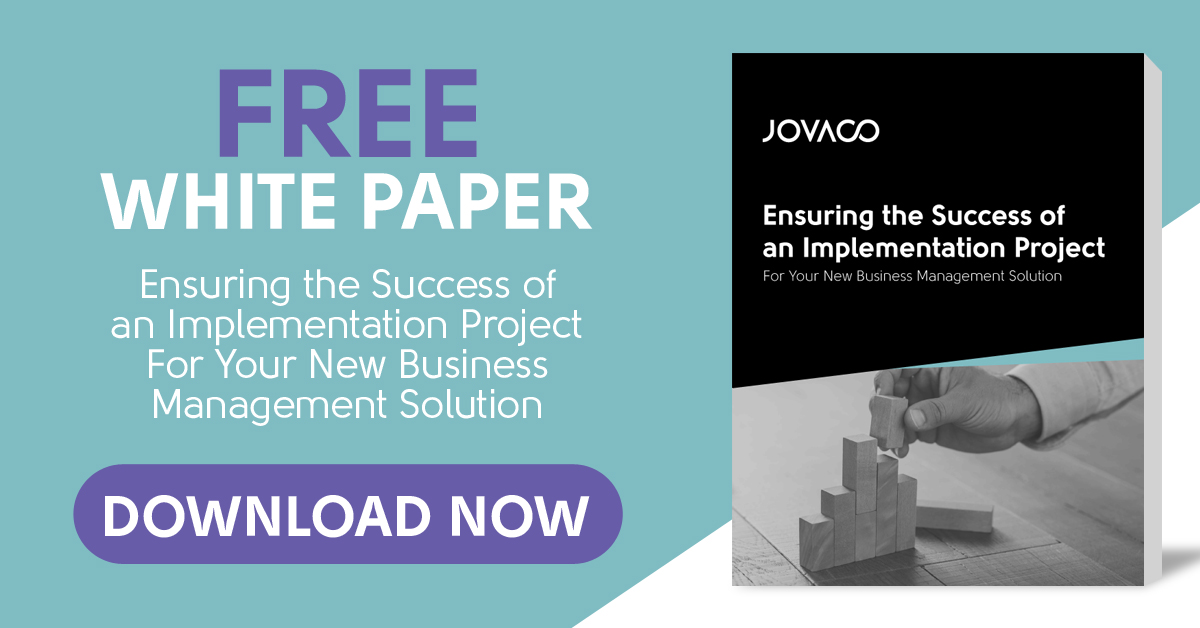 Download the white paper Ensuring the Sucess of an Implementation Project